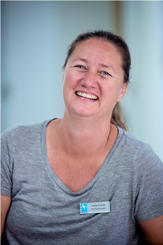 Adéle Pudney, our Physiotherapist.